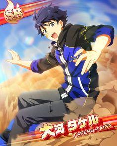 SideM Idolmaster  Takeru Taiga  SR10 Manga Boy, Geek Out, Beautiful Boys, Idol, Fandoms, Guys, Fictional Characters, Inspiration, Image