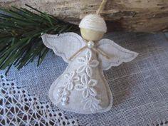 Angel Christmas Ornament Handmade Angel Tree by Mydaisy2000