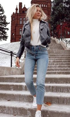 Winter Fashion Outfits, Fall Winter Outfits, Look Fashion, Spring Outfits, Womens Fashion, Fall Fashion, Fashion Trends, Sporty Fashion, Feminine Fashion