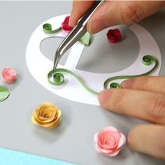 Quilled Monogram Card | Flickr - Photo Sharing!