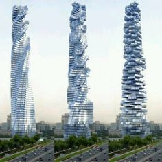 Rotating tower in Dubai