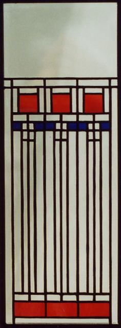 stained glass FLW