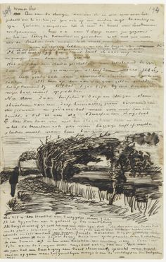 Letter from Vincent van Gogh toTheo van Gogh