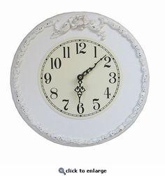 Bella Rose Wall Clock