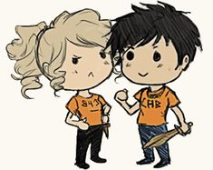 Percy Jackson, Annabeth Chase, Jason Grace, & Piper McLean