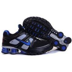 reputable site f0cc0 a7262 407266 012 Nike Shox Turbo 11 Black Blue J14010 Nike Air Max, Nike Air  Jordans