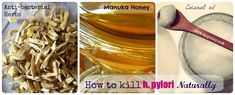 How to kill h. pylori infection naturally.