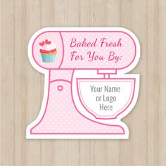 71 best business cards images on pinterest carte de visite this is so cute great packaging label mixer shaped custom stickers colourmoves