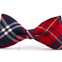 Mucha wiązana ARANGA kratka, akcesoria - muszki & krawaty