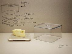 RIG-TIG by STELTON Aufbewahrungsbox Käse