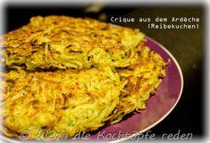 Crique aus dem Ardèche oder Reibekuchen #franzoesisch #rezept #kartoffel