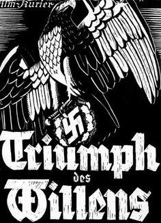 """29. Cartel de la Película """"El triunfo de la voluntad"""" dirigida por Leni Riefenstahl que recoge el VI Congreso del Partido Nacionalsocialista y que es considerada una obra maestra de la propaganda nazi."""