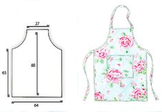 Sew a classic apron :: free Vintage-style sewing pattern :: allaboutyou.com