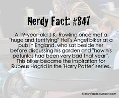 I think this is my favorite Harry potter fact... Ever