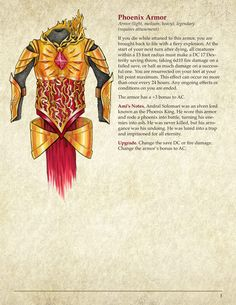 Archive of Magic Items — Pirate Gonzalez Games Dungeons And Dragons 5e, Dungeons And Dragons Homebrew, Fantasy Armor, Fantasy Weapons, Paladin, Warlock Dnd, Magic Armor, Magia Elemental, Dnd Classes