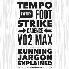 Interpreting Running Jargon