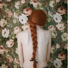 The Italian fashion photographer Monia Merlo Danielle Victoria, Beautiful Redhead, Portrait Inspiration, Italian Fashion, Red Hair, Redheads, Long Hair Styles, People, Flowers
