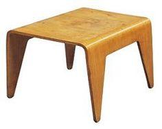 Marcel Breuer 1935 Table basse, Contre-plaqué moulé
