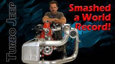 Turbo Jeep Smashes World Records! (Tons of Innovation!) Race Engines, World Records, Old Cars, Jeep, Innovation, Engineering, Racing, Youtube, Twin