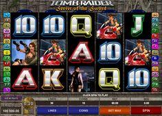 Befreunde dich mit Lara Croft und spielt zsm das Tomb Raider II Automatenspiel von Microgaming! Habt zsm Spass und geniesst das freies Spiel!