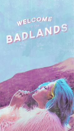 Imagem de halsey, badlands, and wallpaper Halsey Poster, Phone Backgrounds, Iphone Wallpaper, Wings Wallpaper, Hopeless Fountain Kingdom, Indie, Hardcore, Everything Is Blue, Photos