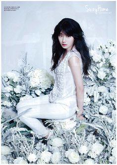 miss A's Suzy CéCi Korea Magazine April 2013 Snsd, Miss A Suzy, Idole, Asian Celebrities, Bae Suzy, Portraits, Girl Day, Beautiful Asian Girls, Pretty Girls