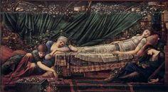 Edward Burne-Jones La principessa addormentata, 1872-94