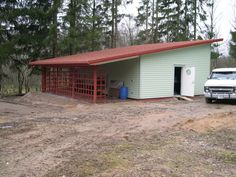 Pulpettak Garage/carport