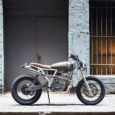 Honda 650 Brat Tracker | Scrambler | Peter