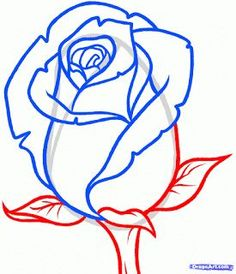 """Step Learn How to Draw a Rose Bud, Rose Bud FREE Step-by-Step Online Drawing Tutorials, Flowers, Pop Culture free step-by-step drawing tutorial will teach you in easy-to-draw-steps how to draw """"How to Draw a Rose Bud, Rose Bud"""" online. Plant Drawing, Painting & Drawing, Drawing Flowers, Flower Drawings, Easy Rose Drawing, Painting Flowers, Rock Painting, Drawing Tutorials, Art Tutorials"""