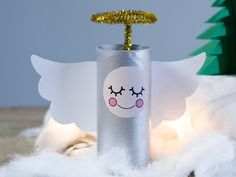 DIY – Indoor Christmas landscape from paper rolls - Søstrene Grene Christmas Activities, Christmas Crafts For Kids, Holiday Crafts, Christmas Diy, Christmas Ornaments, Toilet Paper Roll Crafts, Paper Crafts, Button Christmas Cards, Elf Christmas Decorations