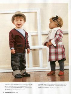 images of babies' fashions   Fall Flair: Right Bank Babies in Babytalk