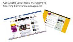 Social media management  Capacitación y Coaching community management.