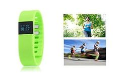 SumTec A05 Smart Bracelet - Green - Bluetooth Watch - WiFi - Calorie Counter Wireless - Pedometer - Sport Activity Tracker - Android IOS Phone SumTec Inc http://www.amazon.ca/dp/B013NYO69A/ref=cm_sw_r_pi_dp_YYKpwb1DJBA1Z GET MOVING