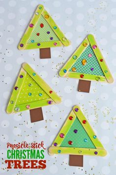 Get the kids super excited for the holiday season with today's easy Popsicle StickChristmas Trees Kid Craft. Kids will love making and decorating their own tree, while moms {and dads} will enjoy the beautiful end result! With just a pinch... Continue Reading →