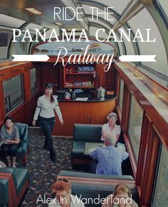 An amazing experience when traveling through -- Riding from Pacific Coast to the Atlantic across Panama on the country's iconic Panama Canal Railway Alex in Wanderland Honduras, Costa Rica, Panama Canal, Panama City Panama, Colon Panama, Panama Cruise, Bus Travel, Train Travel, Belize