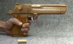Ha... Rubber band gun :)