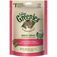 Greenies Dental Treats For Cats Salmon Flavor 3.0 oz * Find out more about the great product at the image link.