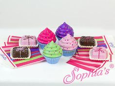 """Doll Clothes AG 18"""" Sophia's Cupcake Treats Toy Made For American Girl Dolls"""