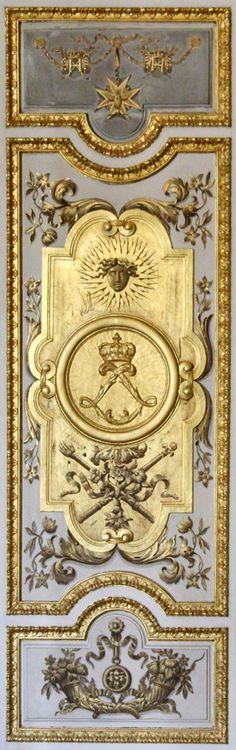 """Versailles panel, porte du """"Salon de Vénus'"""