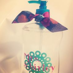 Hand sanitizer I personalized