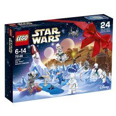 Buy LEGO Star Wars: Advent Calendar at Mighty Ape NZ. Get the festive period off to a galactic start with the LEGO Star Wars Advent Calendar! Take a festive tour of the galaxy with the LEGO® Star Wars Ad. Lego Technic, Lego Duplo, Lego Advent Calendar, Advent Calendars, Star Wars Gifts, Star Wars Toys, Lego Disney, Lego City, Toys R Us