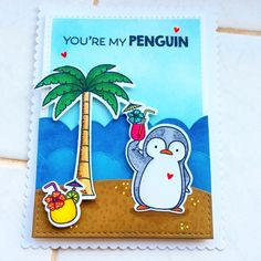 "A Splash of Colour: My favourite things ""penguins in paradise """