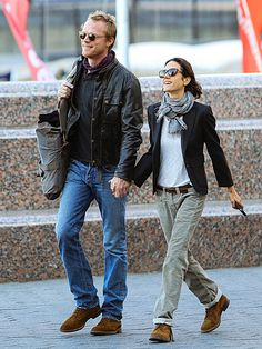 Jennifer Connelly and Paul Bettany - Monday, September 30, 2013