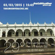 Una #tarde #cálida http://www.turismoenveacruz.mx instaweather #instaweatherpro #veracruz #méxico
