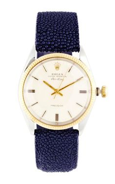 Vintage Rolex Two-Tone Air-King by CMT Fine Watch and Jewelry Advisors for Preorder on Moda Operandi