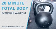 Discover a total body 20 minute kettlebell workout challenge. Activate over 600 muscles in your body, push your cardio, and burn loads of calories. Kettlebell Deadlift, Kettlebell Circuit, Kettlebell Training, Kettlebell Swings, Kettlebell Challenge, Workout Challenge, Excercise, Workout Routine For Men, Ejercicio