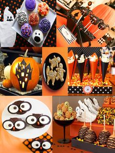 Halloween Treats Inspiration Board