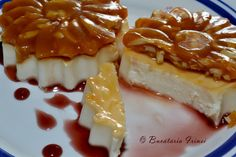 panna cotta, desert cu smantana, desert racoros,desert rapid Hungarian Recipes, Panna Cotta, Waffles, Caramel, Cheesecake, Food And Drink, Gluten Free, Pudding, Breakfast