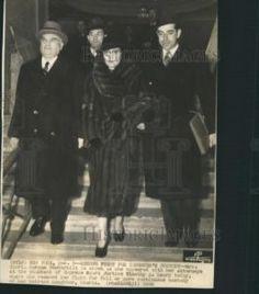 1936 Press Photo Gloria Morgan Vanderbilt Switzerland